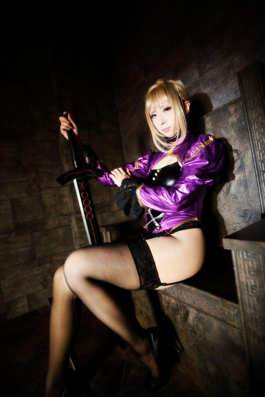 Fate セイバー コスプレ写真集 SAVER×SAVER