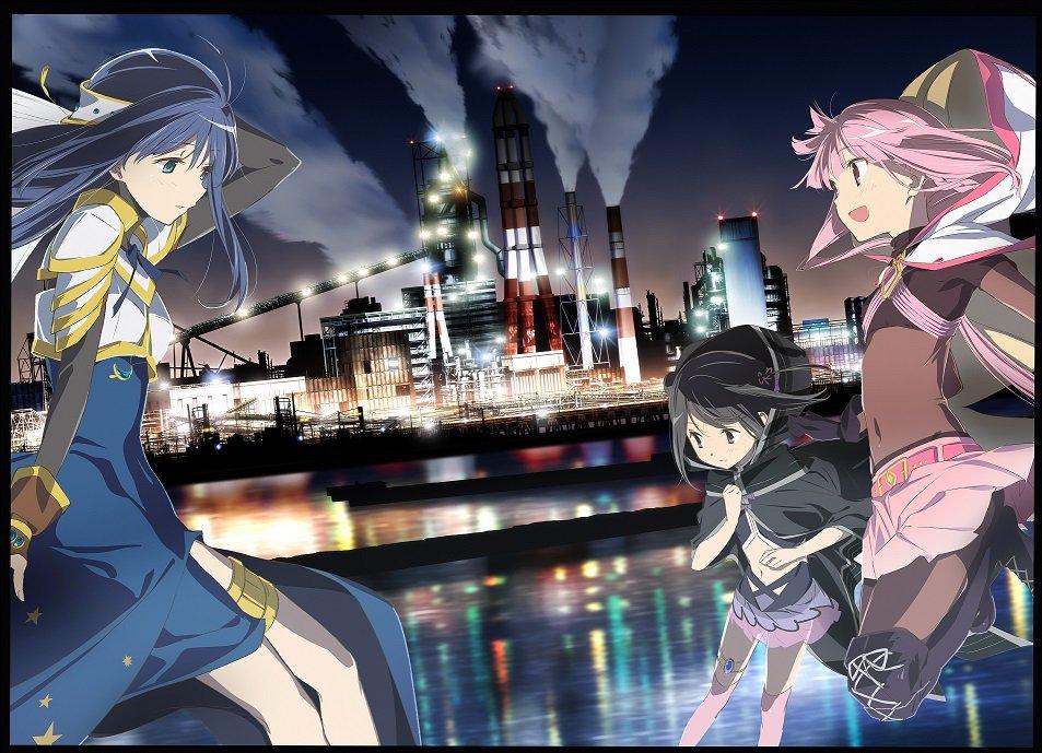TV动画「魔法纪录 魔法少女小圆外传」新视觉图公开!20年一月开播